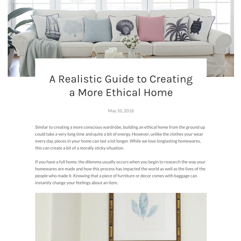 Aquamarine Home Blog