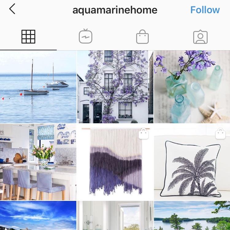 Aquamarine Home Instagram