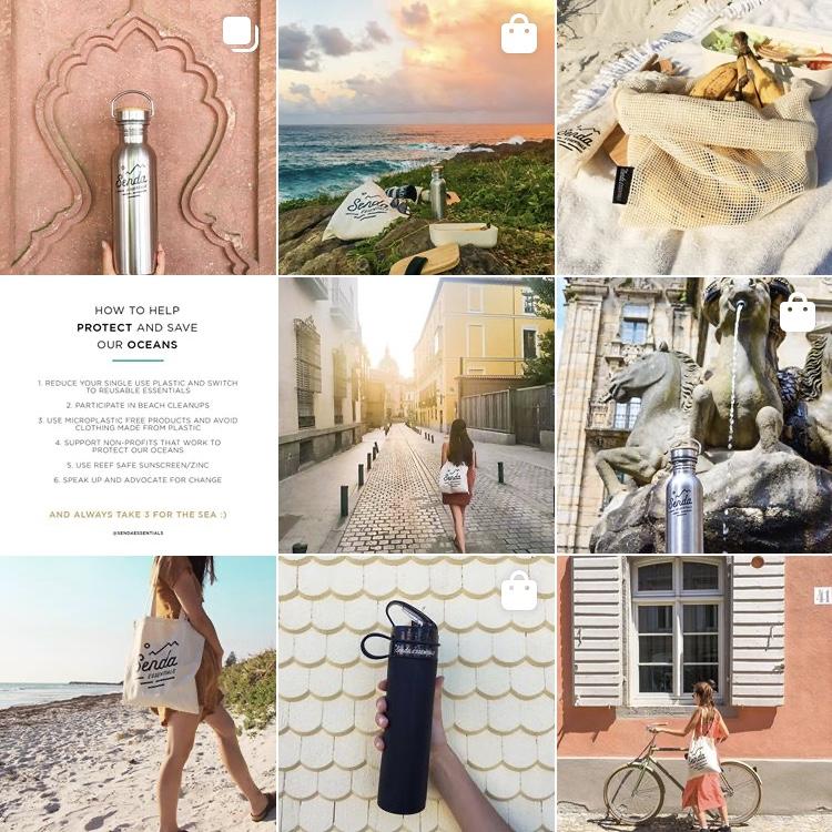 Senda Essentials Instagram